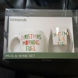 Mug and wine set